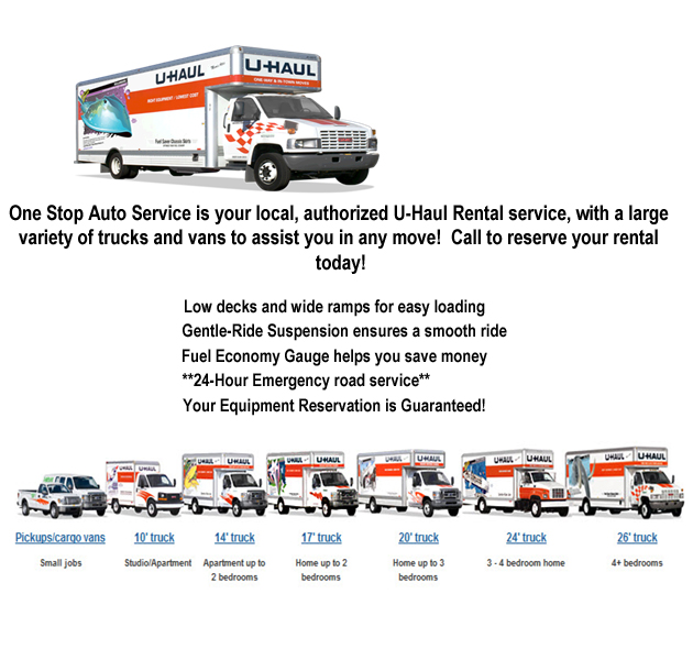 Uhaul truck rental coupons